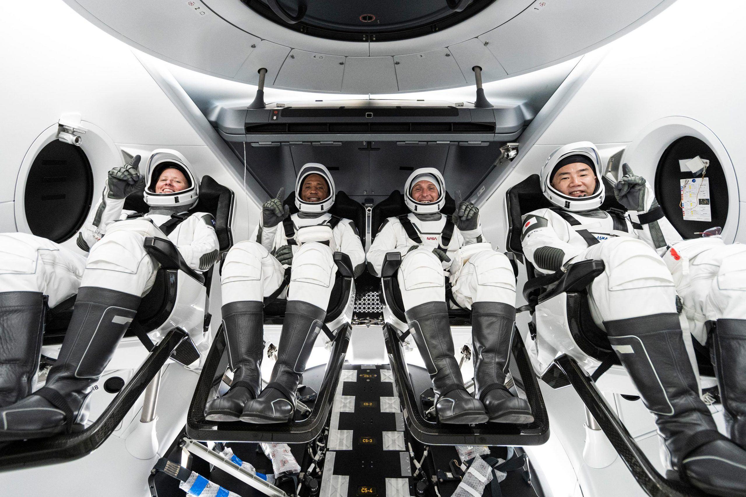 Space X-NASA Crew